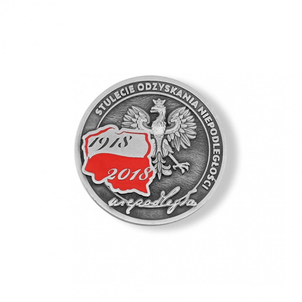 1918-2018 Poland - 3D medal