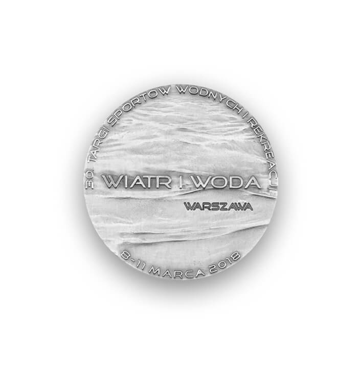 Wind and Water - 3D medal
