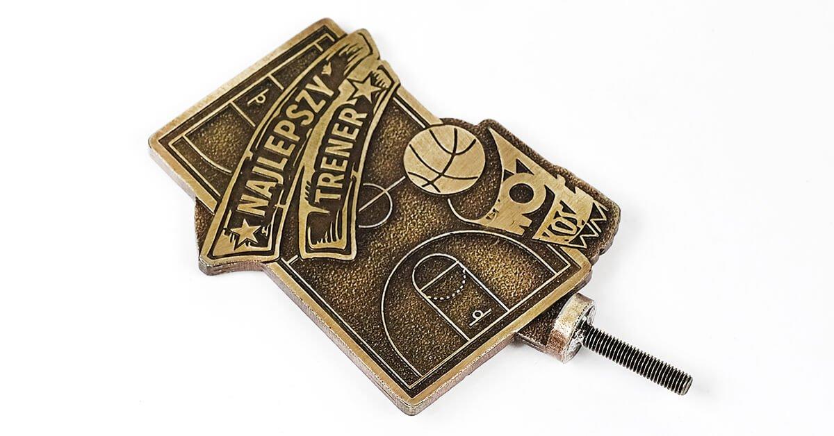 Basketball-Statuette – hergestellt auf Bestellung von MCC Metal Casts