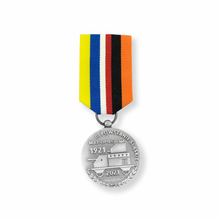 Gegossener Orden zur Erinnerung an den Dritten Schlesischen Aufstand von MCC Metal Casts hergestellt