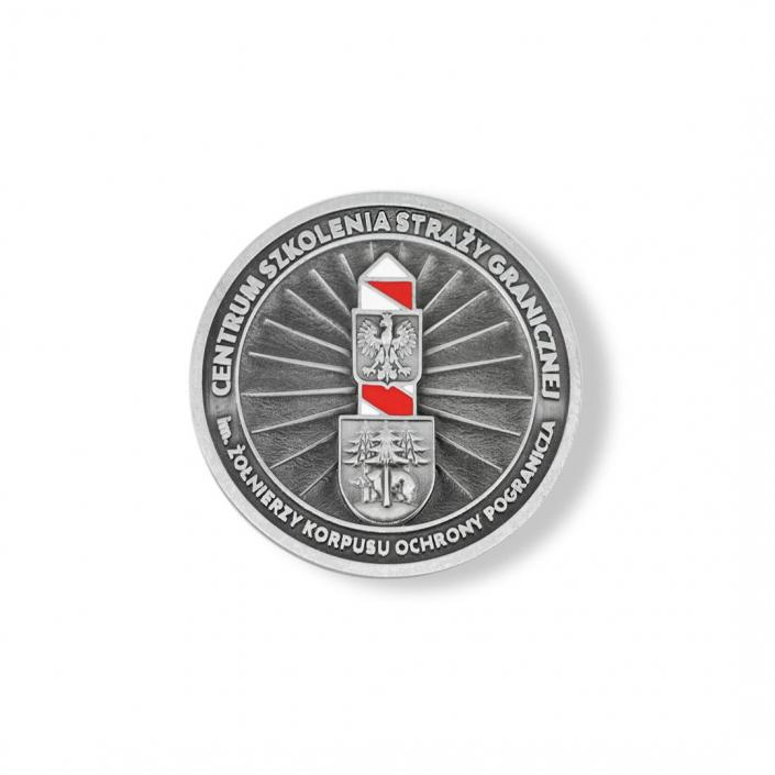 Grenzschutz-Schulungszentrum – 3D-Medaille