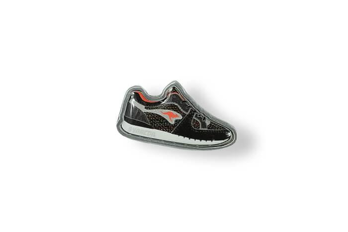 Schuh – Pin mit 3D-Einsatz hergestellt von MCC Metal Casts