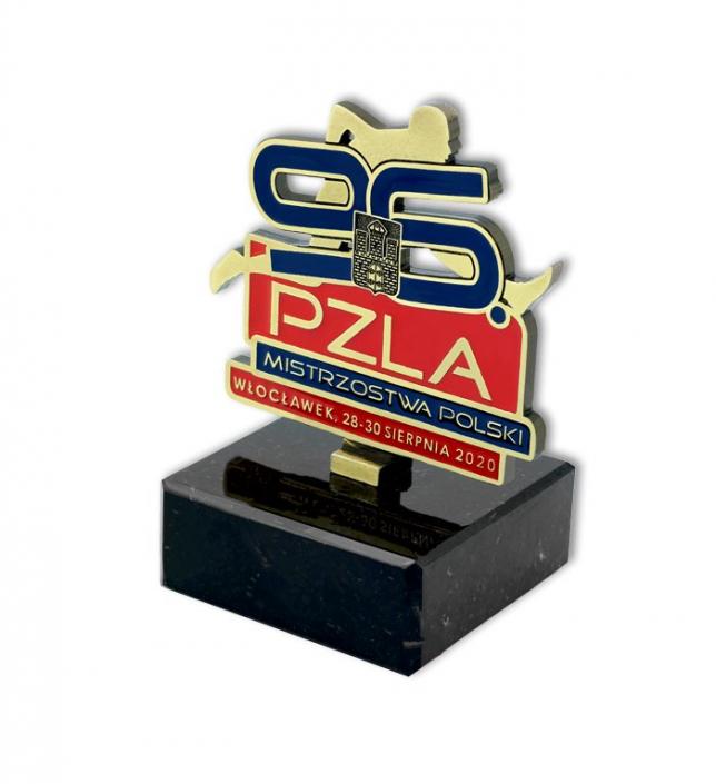 Statuette für Polen Meisterschaft, hergestellt von MCC Metal Casts für PZLA