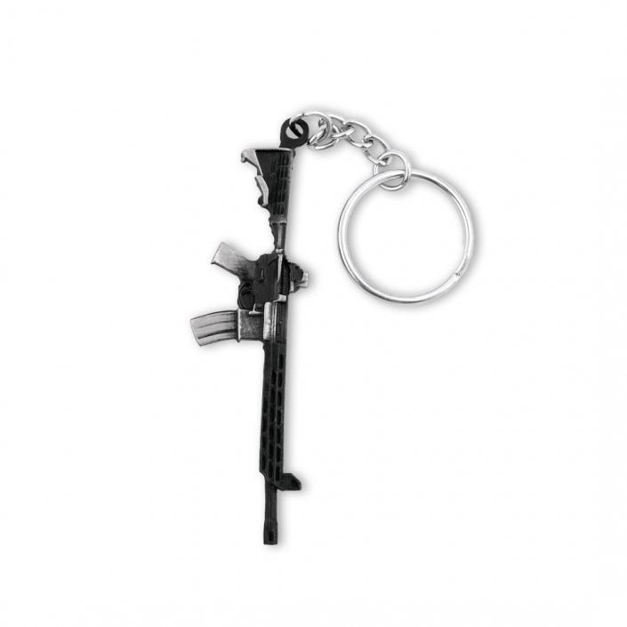 Schlüsselanhänger gegossen – Maschinengewehr