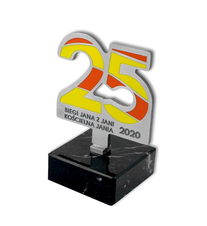 Gegossene Statuette für den Lauf des Jans aus Jania, gegossen von MCC Metal Casts