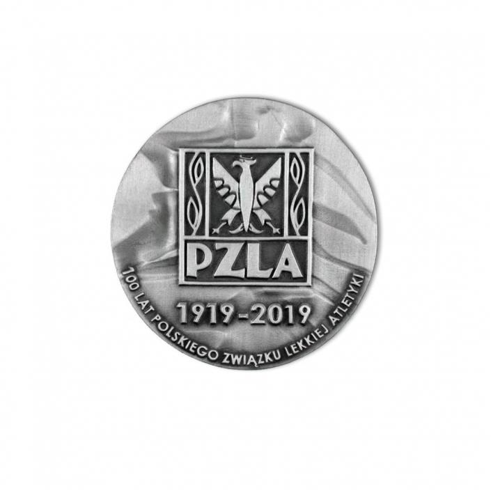 Medaille für den Polnischen Leichtathletikverband, Gedenkmedaille Revers