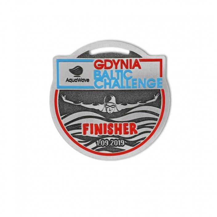 Sportmedaillen auf Bestellung, Gdynia Baltic Challenge, 2019, vom Medaillenhersteller